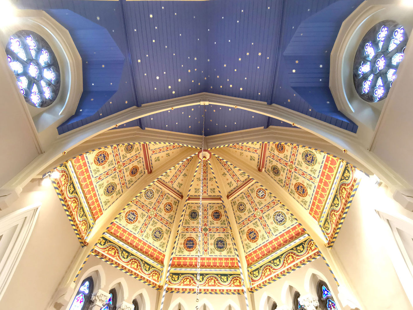 Link to the Portfolio of Decorative Church Painting Gallery.